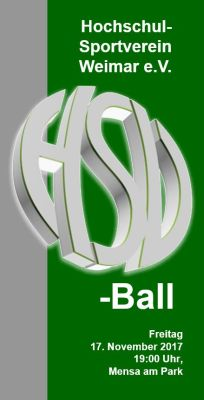 Flyer HSV-Ball 2017