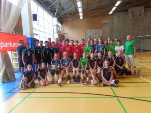 Gruppenfoto Sparkassen-Cup 2015