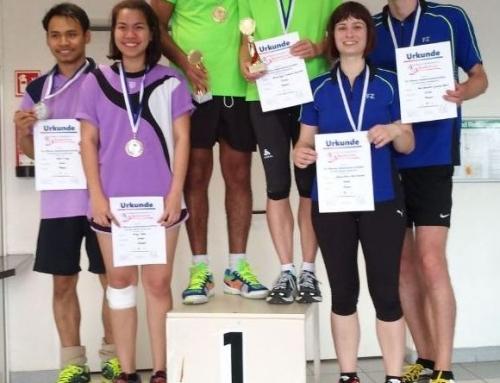 HSV-Erfolge beim Badmintonturnier in Heilbad Heiligenstadt