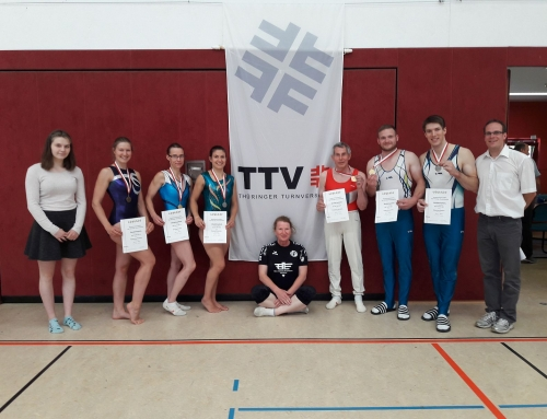 Medaillen satt bei Thüringer Einzelmeisterschaften