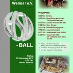 Plakat für den HSV-Ball 2018