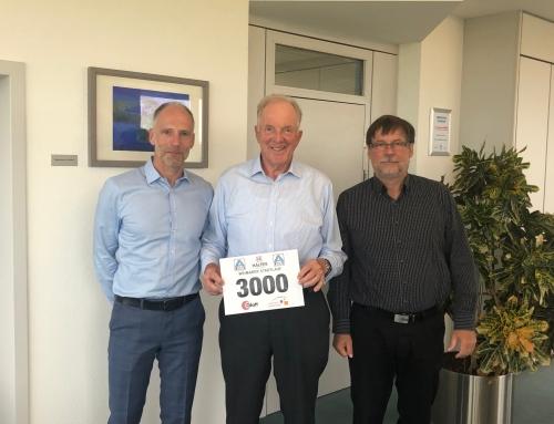 Sponsorenbesuch bei der Glatt Ingenieurtechnik GmbH