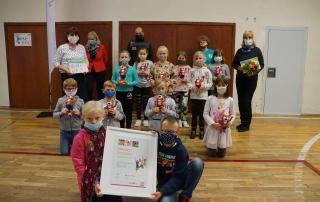 Kinder- und Jugendsport-Preis für die Partnerschaft des HSV Weimar und der Grundschule Legefeld