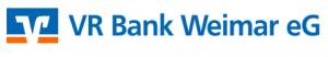 Sponsor des HSV Weimar: VR Bank Weimar eG
