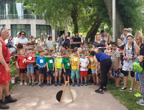199 Kinder beim Weimarer Kindergartenlauf