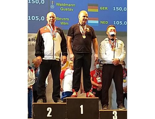 Gustav Waidmann wird Vize-Europameister