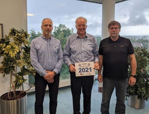 Glatt Ingenieurtechnik GmbH auch 2021 Förderer des Weimarer Stadtlaufs und des HSV Weimar