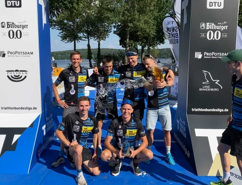 Doppelsieg für Liga-Triathleten