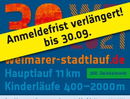 30. Weimarer Stadtlauf
